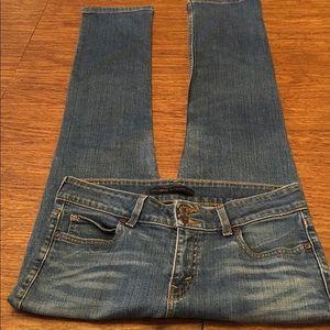 Levi's Slender Straight 526 Medium Rise Jeans Sz 8